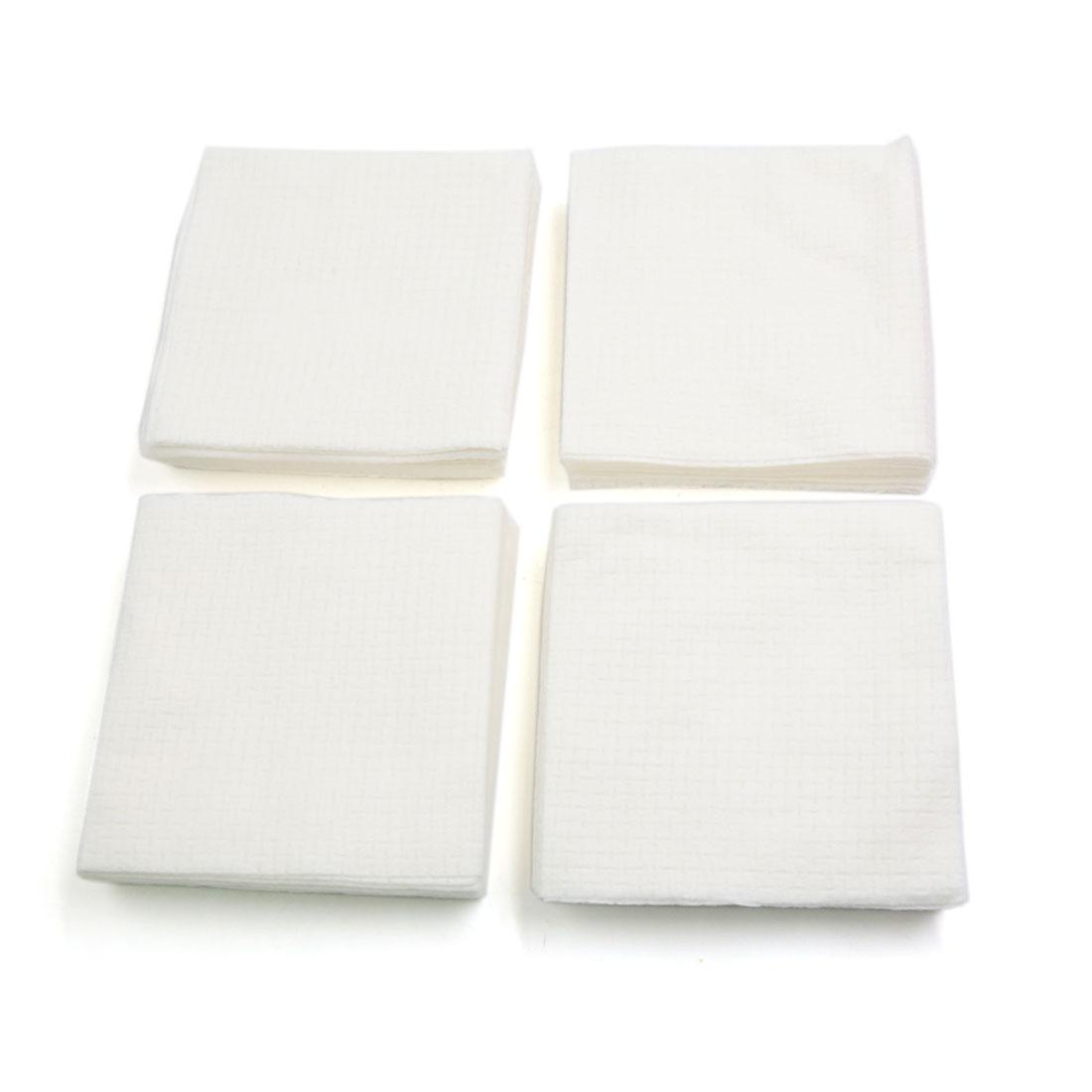 Unique Bargains 250pcs White Nonwoven Fabric DIY Facial M...