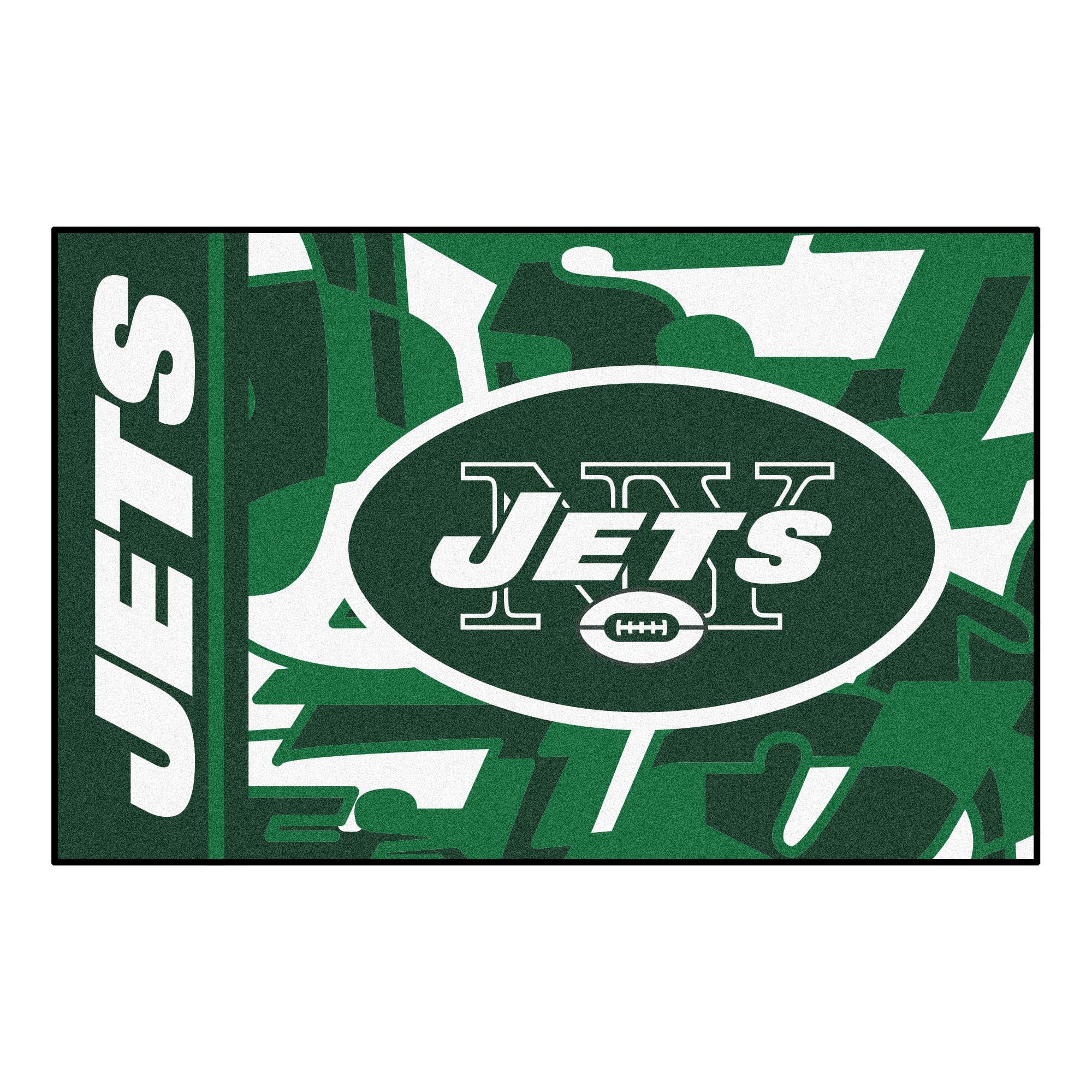 NFL New York Jets Starter Mat Rectangular Area Rug