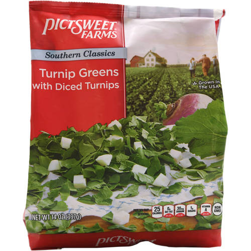 Pictsweet Turnip Greens With Diced Turnips, 16 oz