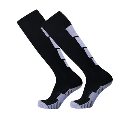 Mens Football Soccer Socks Over Knee High Long Sock Baseball Hockey Runing Sport](Yellow High Socks)