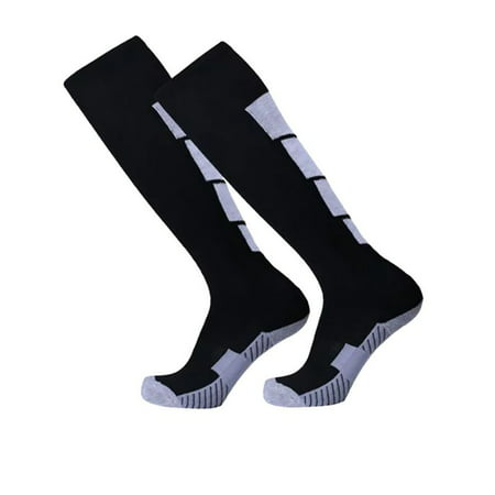 Mens Football Soccer Socks Over Knee High Long Sock Baseball Hockey Runing - Long Light Sock
