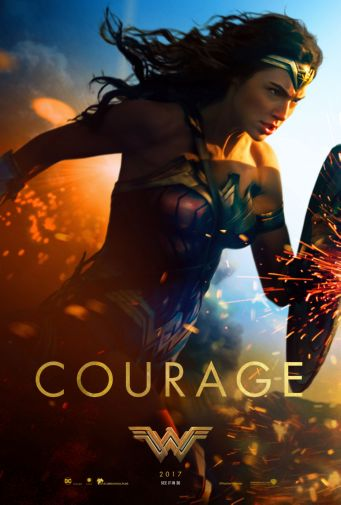 (27x40) Wonder Woman Movie Poster Reprint by