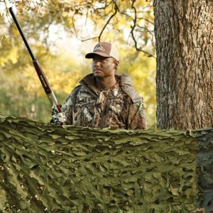 Hunting Series Camouflage Netting - 6' X 8' - Woodland
