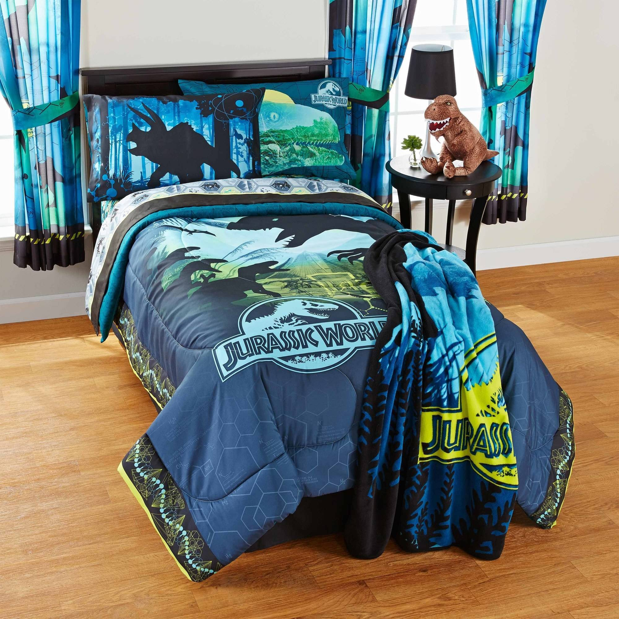 Universal Jurassic World Biggest Growl Bed in Bag Bedding Set
