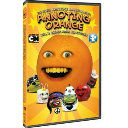 The High Fructose Adventures of Annoying Orange: Vol. 1 Escape from the Kitchen (DVD) - Annoying Orange Godzilla