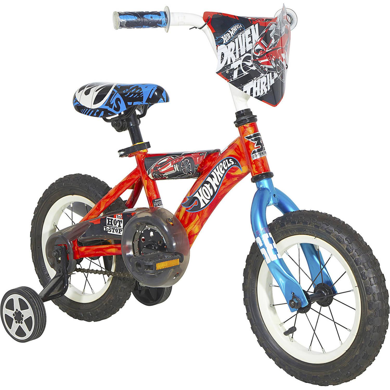"12"" Dynacraft Hot Wheels Boys' Bike with Turbospoke by Dynacraft BSC"