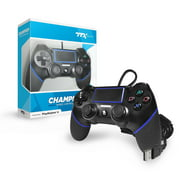 CHAMPION Wired Controller for PS4, Black