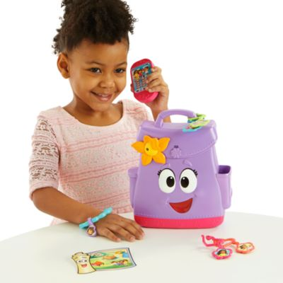 Fisher Price Nickelodeon Dora and Friends Backpack Adventure by Mattel