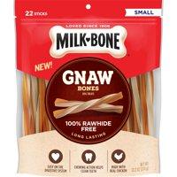 Milk-Bone Gnaw Bones Treat Sticks, Chicken, Rawhide-Free (Various Sizes)