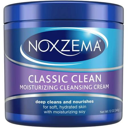 Noxzema Classic Clean, Moisturizing Cleansing Cream 12 oz - Moisturizing Cleansing Cream