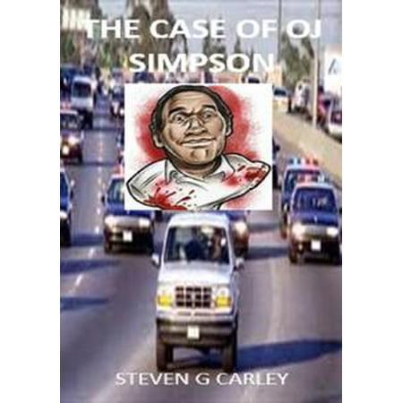The Case of OJ Simpson - (Oj Simpson Autograph)