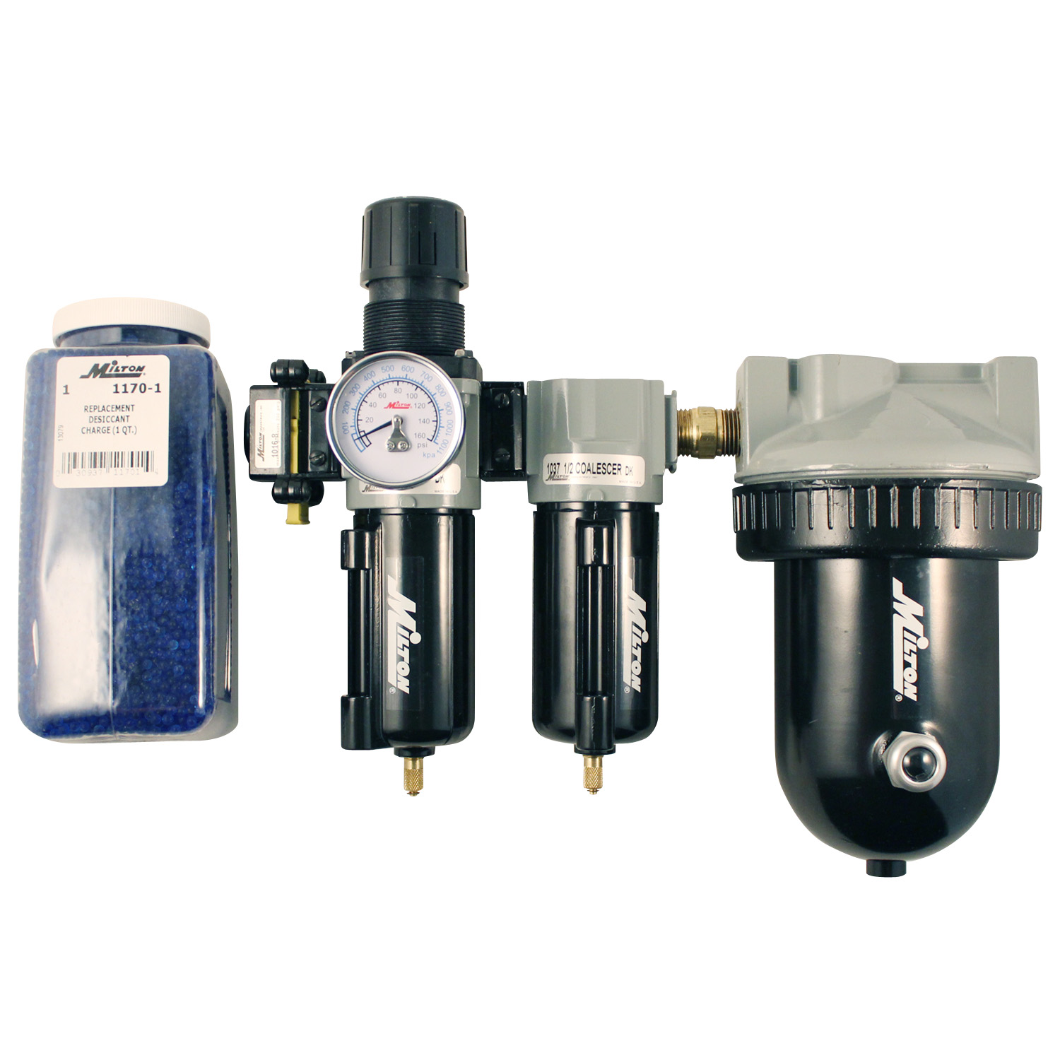 "Milton 1072 1/2"" Deluxe Desiccant Dryer System"