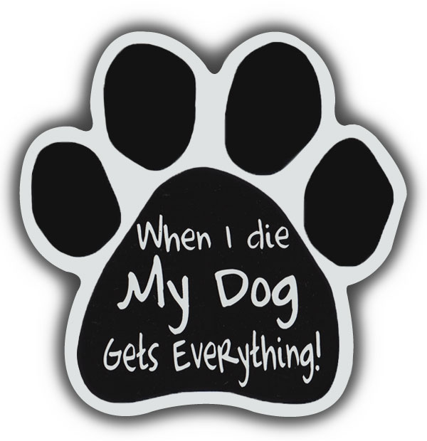 """my Blood Hound Heart I 6/"""" x 4/"""" Oval Dog Magnet for Cars and Fridges"""