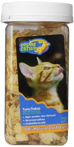 Cosmic Pet Cosmic Catnip Tuna Flakes Cat Treats, 1 Oz by Cosmic Pet