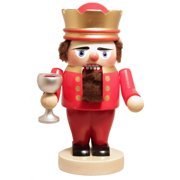 Pinnacle Peak Trading Co Steinbach Signed Troll King Arthur with Chalice German Wood Christmas Nutcracker