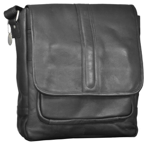 David King & Co. Laptop Messenger w/ Front Gusset Pocket