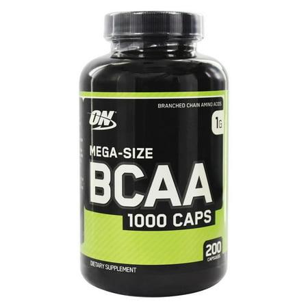 - BCAA 1000 Caps 1000 mg. - 200 Capsules