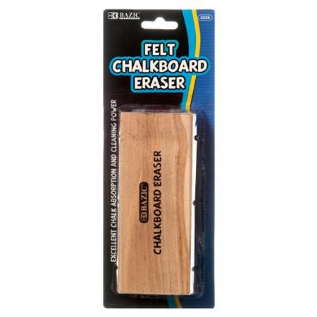 2 Pk, Bazic Felt Chalkboard Eraser - image 1 of 1