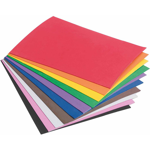 "Sticky Back Foam Sheets, 6"" x 9"", Pack of 40"
