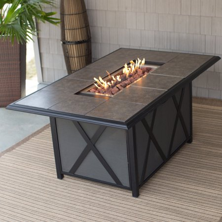 Belham Living Tulie 65 In Patio Dining Fire Table