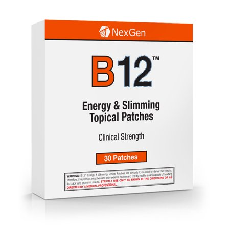 B12 Topical Patches - Increase Energy, Focus, and Well Being with B12 Transdermal