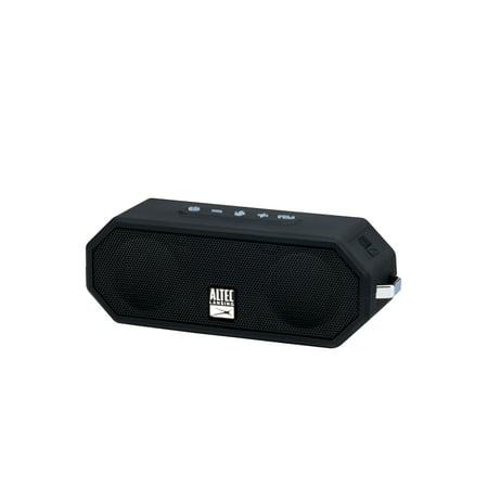 Altec Lansing Jacket H20 4 Portable Bluetooth Speaker, Black