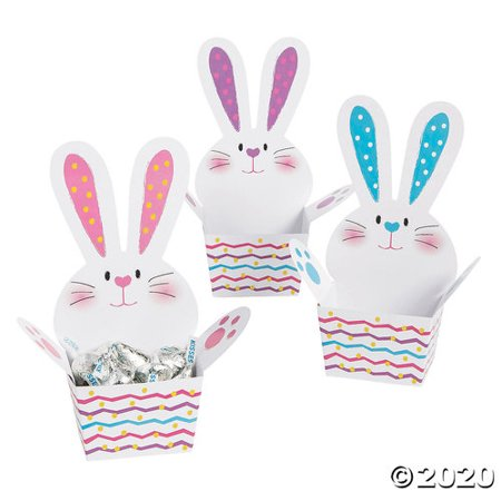 Easter Bunny Treat Boxes Easter Bunny Keepsake Box