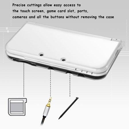 Nintendo New 3DS LL/3DS XL Case, by Insten TPU Gel Case Cover For Nintendo New 3DS LL/3DS XL, Clear - image 7 de 8