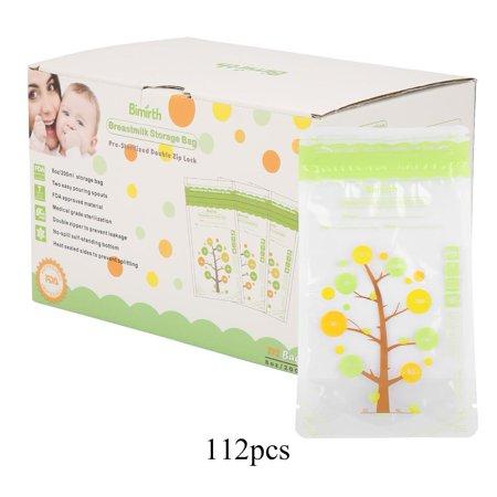 HURRISE Sacs de stockage de lait maternel du bébé 112Pcs sacs de stockage stérilisés de lait maternel de preuve de fuite de 235ml, sac de lait maternel, sacs de lait maternel de bébé - image 14 de 14