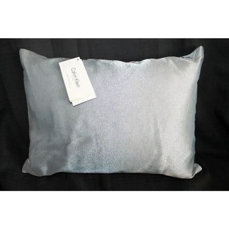 Calvin Klein Studio Laguna 12 x16 Decorative Pillow Bedding Surf Feather Calvin Klein Bed Pillow