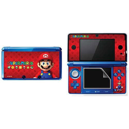 Hori Super Mario Screen Filter and Skin Set (DS)