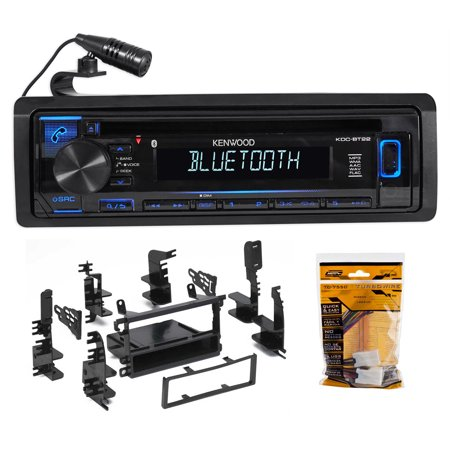 Kenwood CD Receiver w/Bluetooth iPod/iPhone For 1998-04 Nissan Frontier