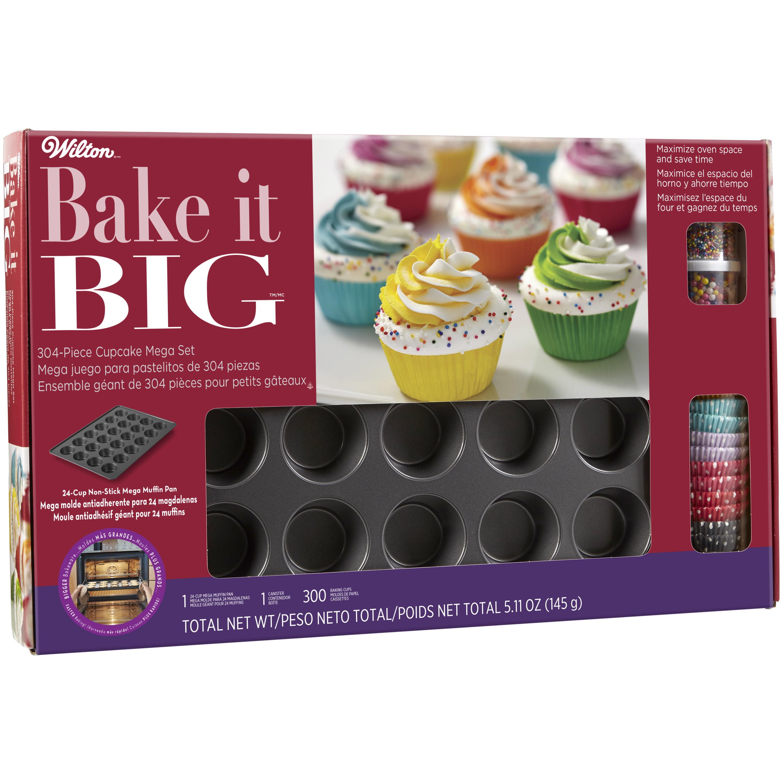 Wilton Mega Cupcake Value Set, 304 piece, Muffin Cups, Bakeware, Baking Set