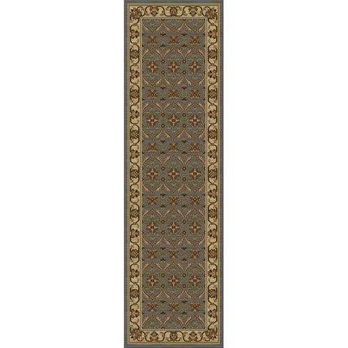 KAS Rugs Lifestyles Slate/Ivory Agra Rug