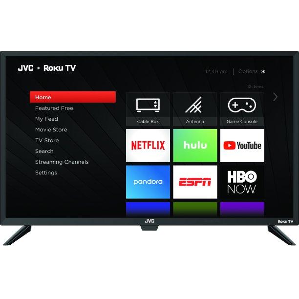 "JVC 32"" Class HD (720p) Roku Smart LED TV (LT-32MAW205) - Walmart.com - Walmart.com"
