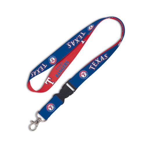 MLB - Texas Rangers 2-Tone Detachable Lanyard