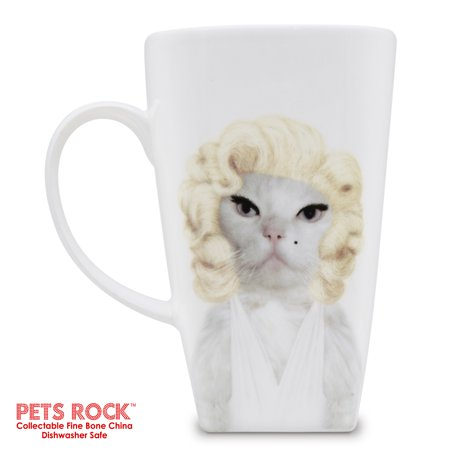 Empire Art Direct Pets Rock Diamonds Collectible Fine Bone China Mug 20 oz ()