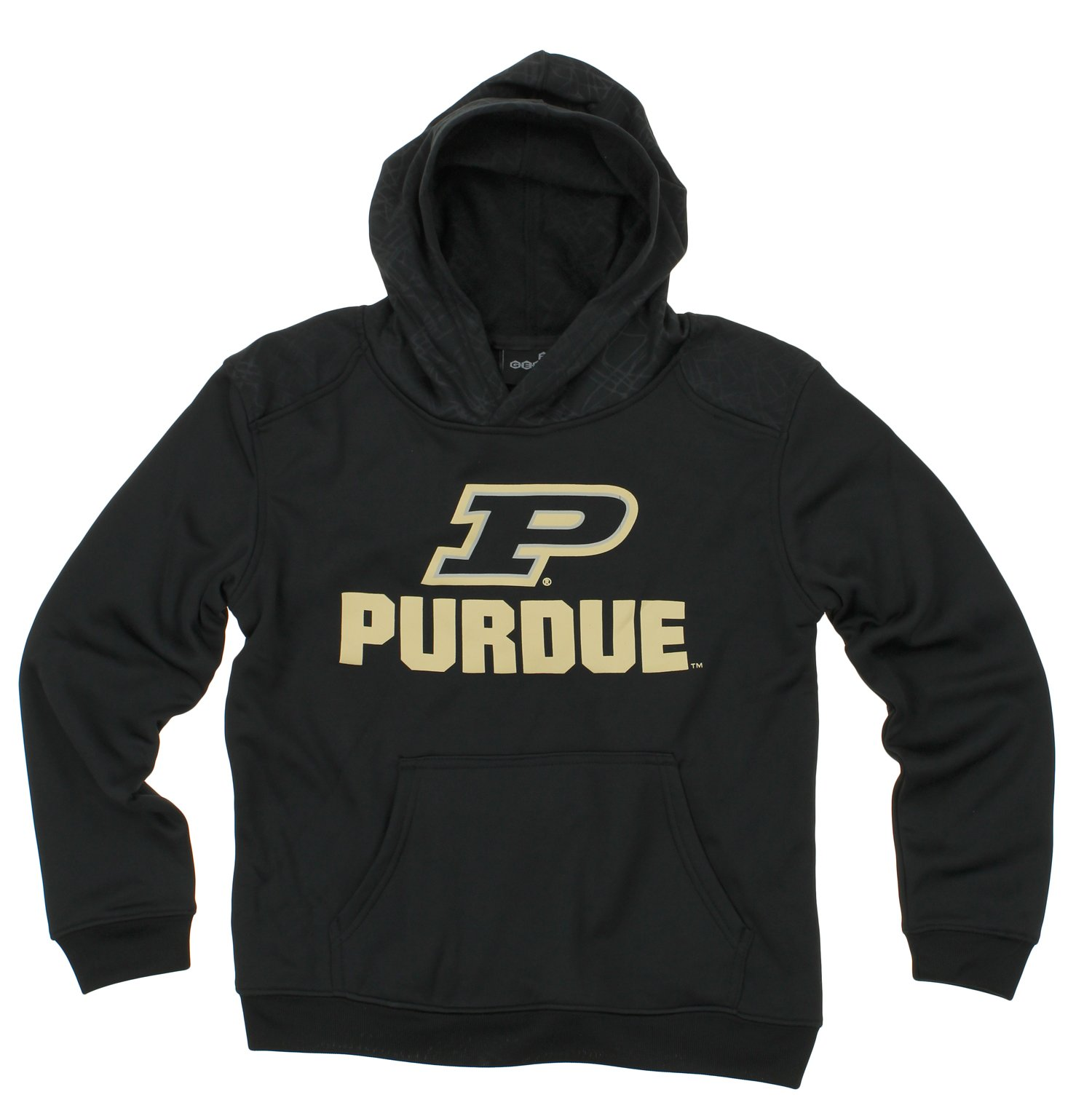 NCAA Youth Purdue Boilermakers Performance Hoodie, Black