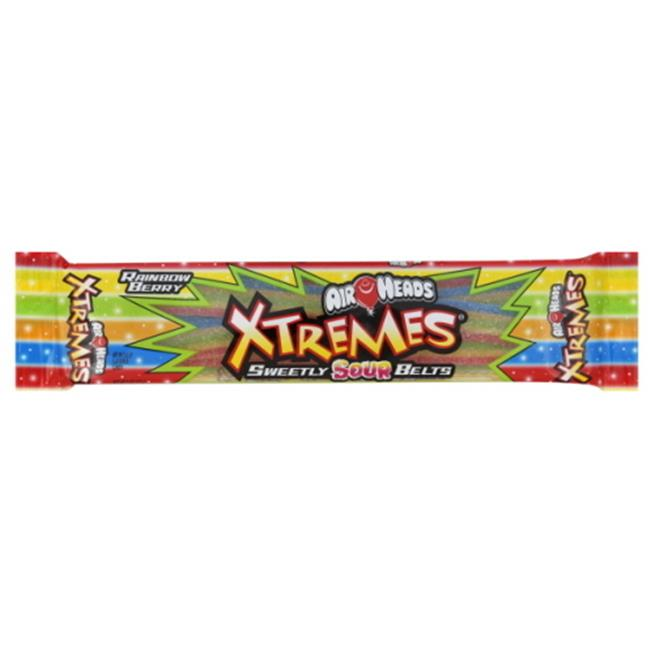 DDI 952846 Airheads Xtremes Belts Berry Single 2 Oz.  18 Count Case Of 18