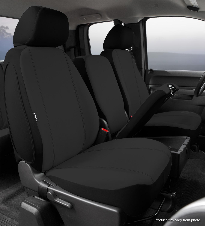 Fia Inc. SP87-28 BLACK FIASP87-28 BLACK 11-16 F250/F350/F450/F550 SUPER DUTY SP FRONT SEAT 40/20/40 SEAT COVER BLACK