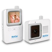 MobiCam Secure Start 2.4 GHz Digital Wireless Audio/Video Baby Monitor