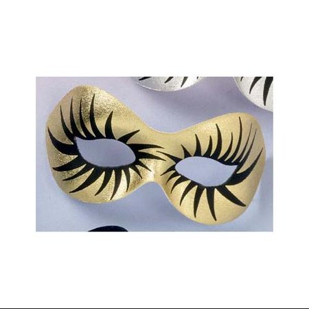 Maquillage Gold Costume Eye Mask - Maquillage Halloween Fille