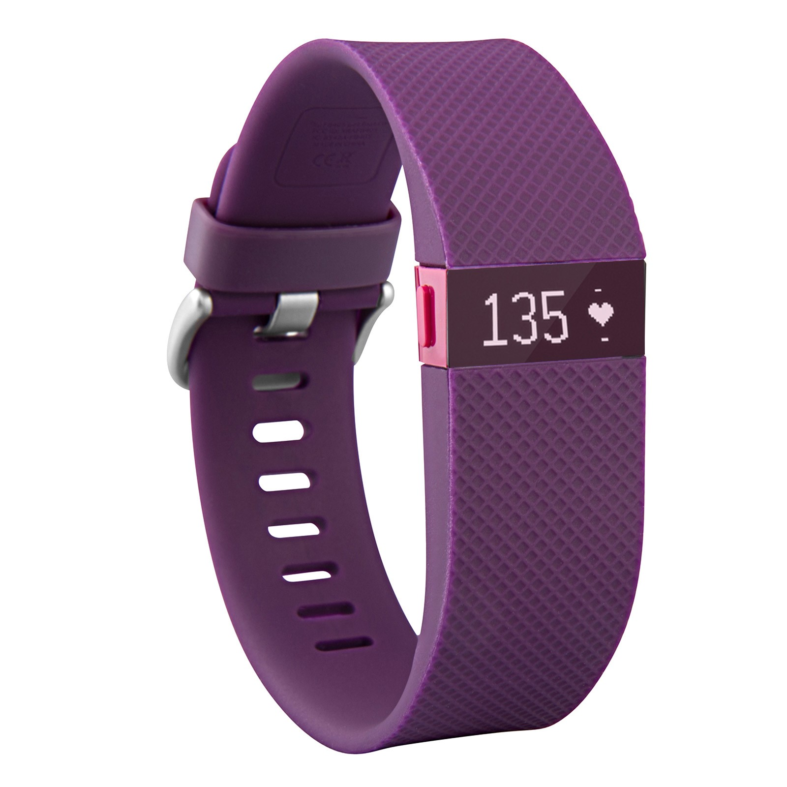 Fitbit Charge HR Heart Rate and Wireless Activity Wristband  - Purple-Small (Certified Refurbished)