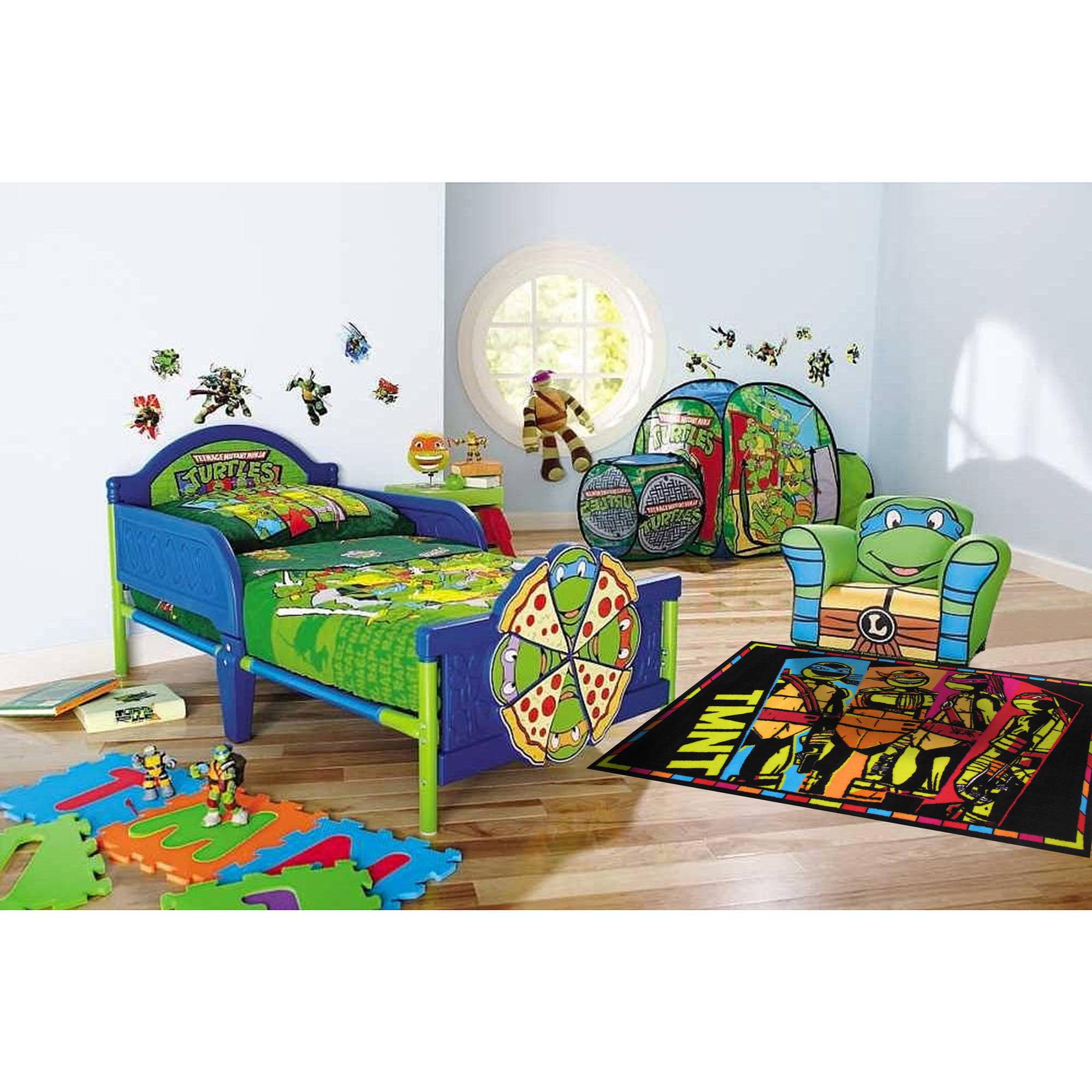 fun rugs nickelodeon ninja turtles tmnt kids rugs 19 x 29 rug
