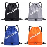 TINKER Summer New Outdoor Sports Men And Women Drawstring Bag, Duffel Bag Waterproof Backpack, Dry And Wet Separation, Fitness Bag