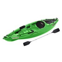 Sun Dolphin Bali 10' Sit-on Recreational Kayak Tangerine, Paddle Included