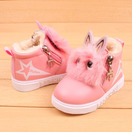Binmer® Hot Sale Children Fashion Boys Girls Sneaker Boots Kids Warm Baby Casual Shoes