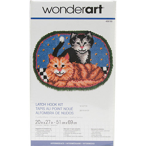 "Wonderart Latch Hook Kit, 20"" x 27"""