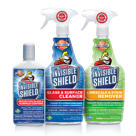 Invisible Shield Glass & Shower Protection Kit (3