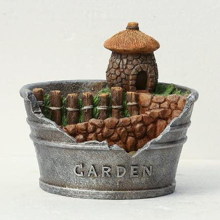 Acorn House Planter Miniature Fairy -
